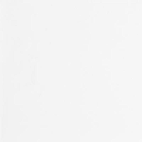 Hvid glat melamin gavl på 16mm 950x2650mm - Ekstra dyb