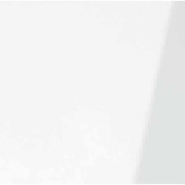 Anslag Hvid højglans melamin 16x100x2650mm