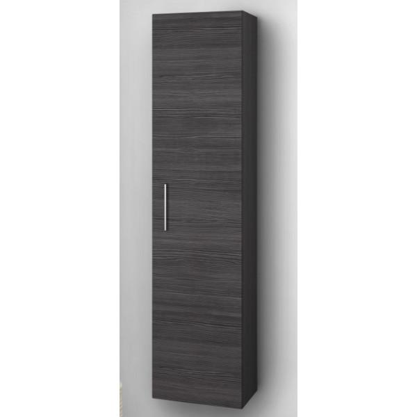 Scanbad Limbo+ højskab i Pine grey med 5 hylder og lækker låge indretning