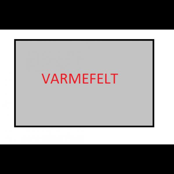 Scanbad Varmefelt til selvmontering