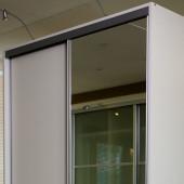 Basic-line Skydedør med spejl - 90 cm