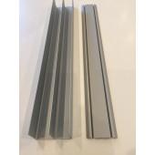 Skinnesæt 400cm Top-/bundskinne Basic-line
