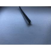 Børsteliste med selvklæb B 4,8mm x H:4,0mm