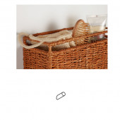 Krog til montering af fletkurve på væg inkl. skruer