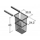 Scanbad vasketøjs trådkurv til højskab på 30cm