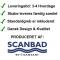 Scanbad Multo+ med Uno vask og 2 låger - 80 x 64,6 x 35 cm