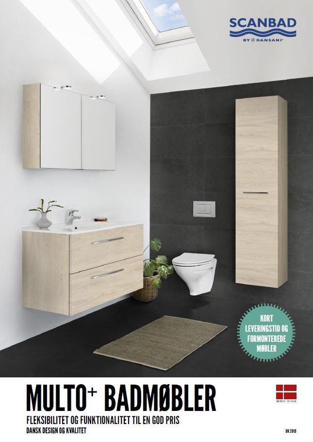 Scanbad Multo 2019 Baderumsmøbler i særklasse by Barebilligst og Skabsdesign