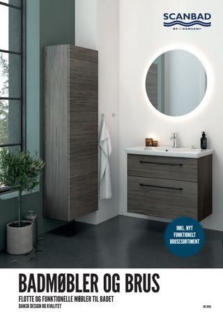 Masser af flotte Scanbad badeværelser fra www.barebilligst.dk