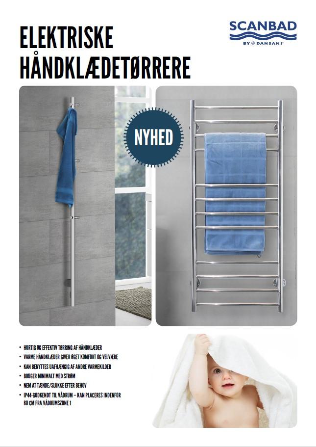 Scanbad Håndklædetørrer 2019 Baderumsmøbler i særklasse by Barebilligst og Skabsdesign