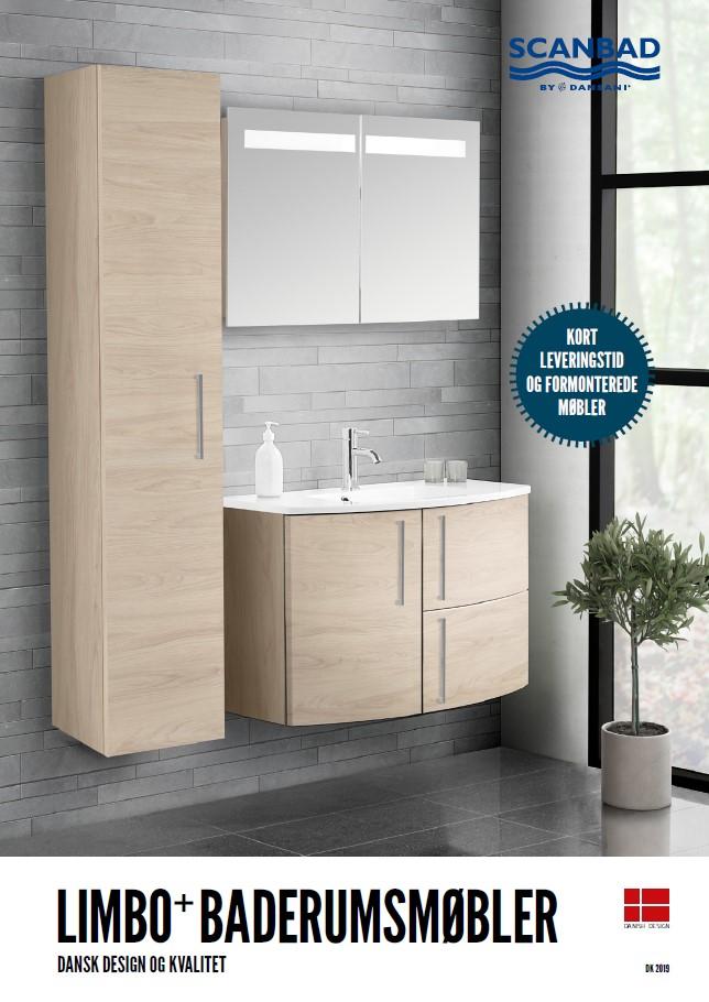 Scanbad Limbo 2019 Baderumsmøbler i særklasse by Barebilligst og Skabsdesign