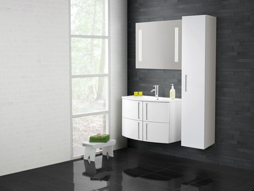Scanbad Limbo - et supper lækkert badeværelse med 4 smarte skuffer