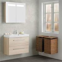 Scanbad Multo en super flot møbelserie til alle former for badeværelser