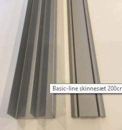 Standard Skinnesæt i 4 forskellige længder